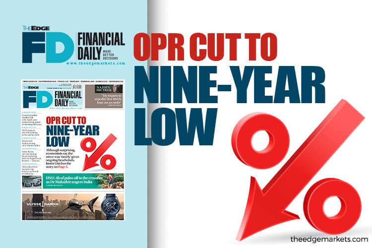 OPR降至9年低点